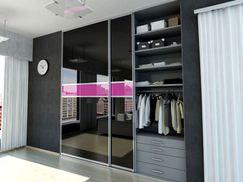 Using back painted glass for wardrobe glass creations for Back painted glass designs for wardrobe
